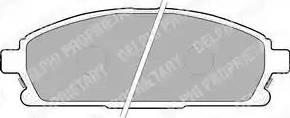 Delphi LP1659 - Kit de plaquettes de frein, frein à disque www.widencarpieces.com