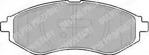 Delphi LP1895 - Kit de plaquettes de frein, frein à disque www.widencarpieces.com