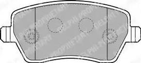 Delphi LP1865 - Kit de plaquettes de frein, frein à disque www.widencarpieces.com