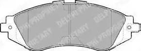 Delphi LP1304 - Kit de plaquettes de frein, frein à disque www.widencarpieces.com