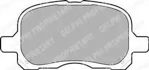 Delphi LP1302 - Kit de plaquettes de frein, frein à disque www.widencarpieces.com