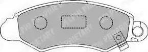 Delphi LP1318 - Kit de plaquettes de frein, frein à disque www.widencarpieces.com