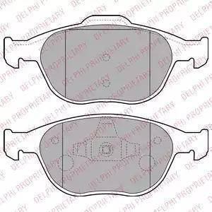 BOSCH 0 986 424 701 - Kit de plaquettes de frein, frein à disque www.widencarpieces.com