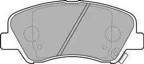 Delphi LP2497 - Kit de plaquettes de frein, frein à disque www.widencarpieces.com