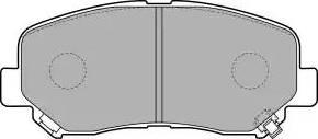 Delphi LP2481 - Kit de plaquettes de frein, frein à disque www.widencarpieces.com