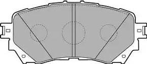 Delphi LP2487 - Kit de plaquettes de frein, frein à disque www.widencarpieces.com