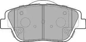 Delphi LP2688 - Kit de plaquettes de frein, frein à disque www.widencarpieces.com