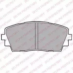 Delphi LP2296 - Kit de plaquettes de frein, frein à disque www.widencarpieces.com