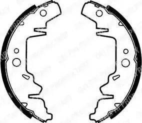 Delphi LS1814 - Jeu de freins, freins à tambour www.widencarpieces.com
