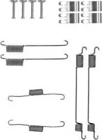 Delphi LY1410 - Kit d'accessoires, mâchoire de frein www.widencarpieces.com