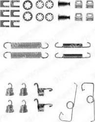 Delphi LY1053 - Kit d'accessoires, mâchoire de frein www.widencarpieces.com