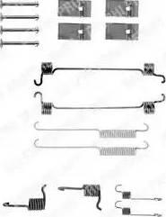 Delphi LY1119 - Kit d'accessoires, mâchoire de frein www.widencarpieces.com
