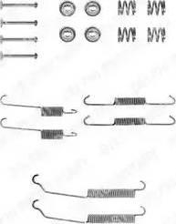 Delphi LY1129 - Kit d'accessoires, mâchoire de frein www.widencarpieces.com