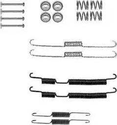 Delphi LY1390 - Kit d'accessoires, mâchoire de frein www.widencarpieces.com