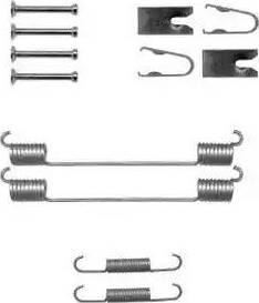 Delphi LY1369 - Kit d'accessoires, mâchoire de frein www.widencarpieces.com