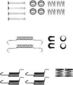 Delphi LY1367 - Kit d'accessoires, mâchoire de frein www.widencarpieces.com