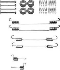 Delphi LY1378 - Kit d'accessoires, mâchoire de frein www.widencarpieces.com