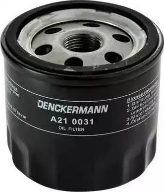 Denckermann A210031 - Filtre à huile www.widencarpieces.com