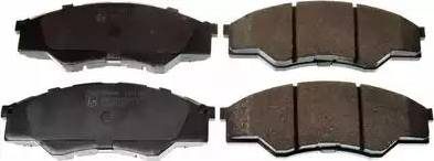 Denckermann B111196 - Kit de plaquettes de frein, frein à disque www.widencarpieces.com