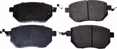 Denckermann B111181 - Kit de plaquettes de frein, frein à disque www.widencarpieces.com