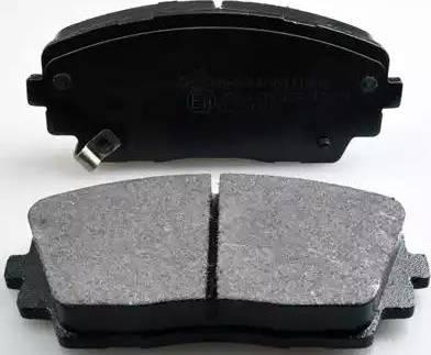 Denckermann B111309 - Kit de plaquettes de frein, frein à disque www.widencarpieces.com
