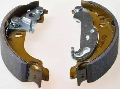 Denckermann B120189 - Jeu de freins, freins à tambour www.widencarpieces.com