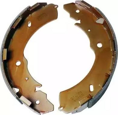 Denckermann B120175 - Jeu de freins, freins à tambour www.widencarpieces.com