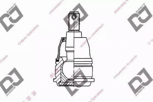 DJ Parts DB1049 - Rotule de suspension www.widencarpieces.com
