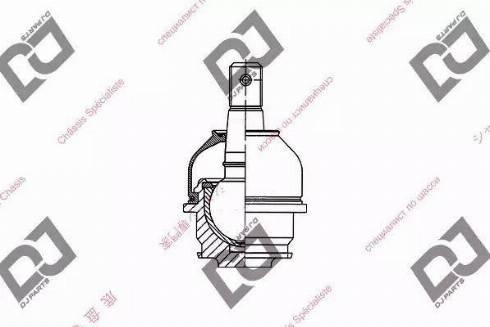 DJ Parts DB1016 - Rotule de suspension www.widencarpieces.com