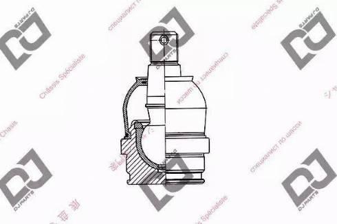 DJ Parts DB1022 - Rotule de suspension www.widencarpieces.com