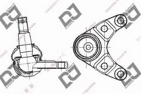DJ Parts DB1320 - Rotule de suspension www.widencarpieces.com