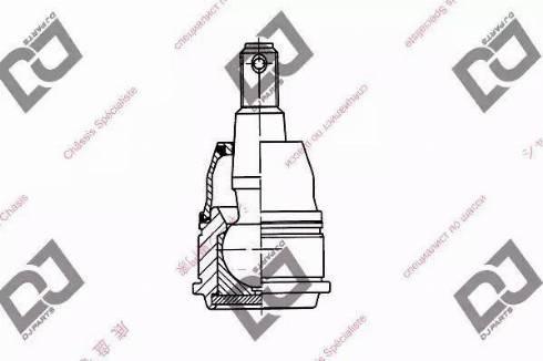 DJ Parts DB1215 - Rotule de suspension www.widencarpieces.com