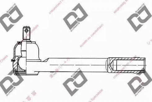 DJ Parts DE1259 - Tige de biellette, rotule www.widencarpieces.com