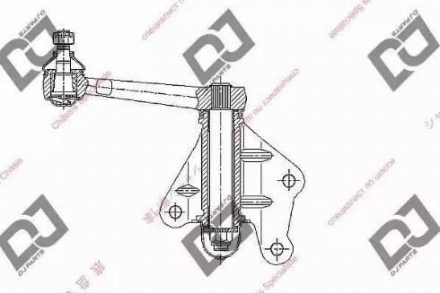 DJ Parts DI1030 - Levier intermédiaire de direction www.widencarpieces.com