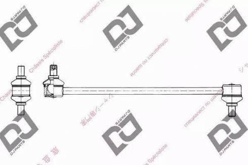 DJ Parts DL1178 - Entretoise/tige, stabilisateur www.widencarpieces.com