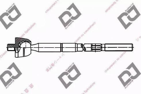 DJ Parts DR1009 - Rotule de direction intérieure, barre de connexion www.widencarpieces.com