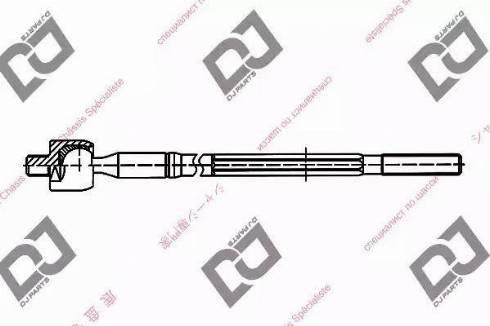 DJ Parts DR1004 - Rotule de direction intérieure, barre de connexion www.widencarpieces.com