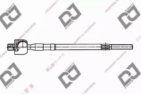 DJ Parts DR1032 - Rotule de direction intérieure, barre de connexion www.widencarpieces.com