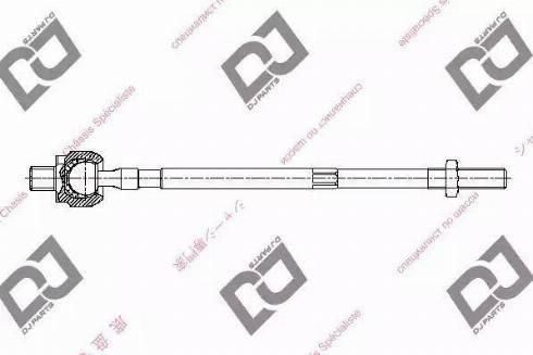 DJ Parts DR1164 - Rotule de direction intérieure, barre de connexion www.widencarpieces.com