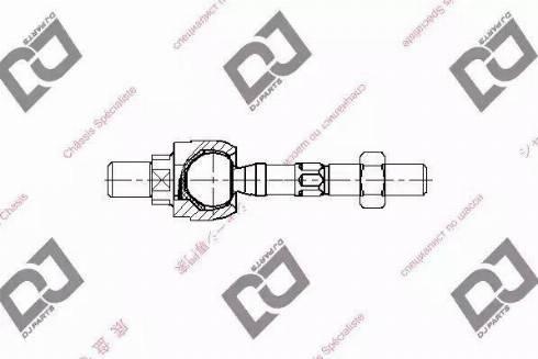DJ Parts DR1224 - Rotule de direction intérieure, barre de connexion www.widencarpieces.com