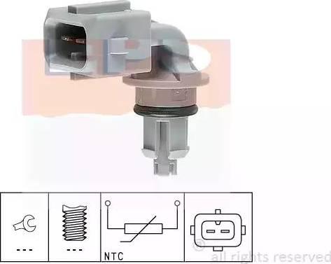 EPS 1.994.005 - Capteur, température de l'air d'admission www.widencarpieces.com