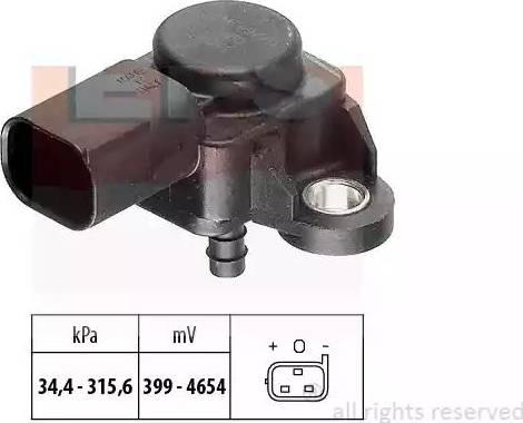 EPS 1993165 - Capteur, pression des gaz échappement www.widencarpieces.com