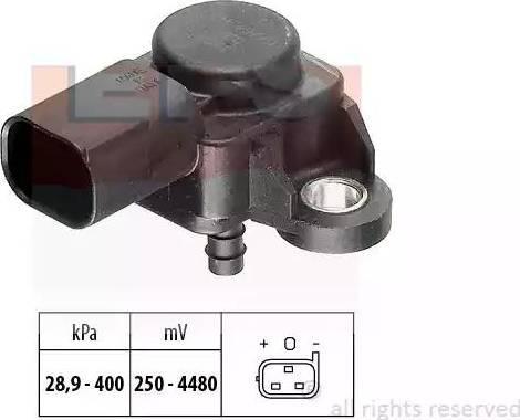 EPS 1993175 - Capteur, pression des gaz échappement www.widencarpieces.com