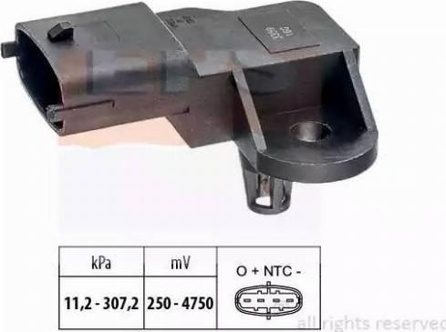 EPS 1993359 - Capteur, pression des gaz échappement www.widencarpieces.com