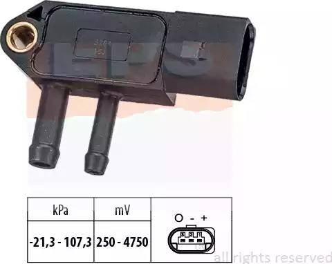EPS 1993266 - Capteur, pression des gaz échappement www.widencarpieces.com