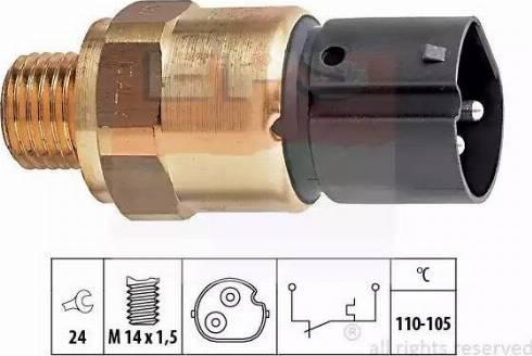 EPS 1850273 - Interrupteur de température, ventilateur de radiateur / climatiseur www.widencarpieces.com