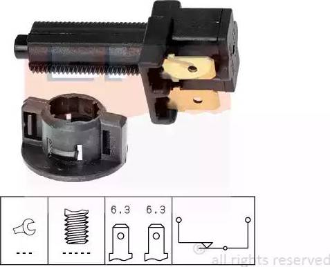 EPS 1.810.041 - Interrupteur des feux de freins www.widencarpieces.com