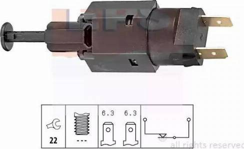 EPS 1.810.050 - Interrupteur des feux de freins www.widencarpieces.com