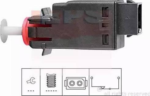 EPS 1.810.058 - Interrupteur des feux de freins www.widencarpieces.com