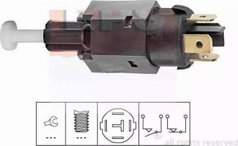 EPS 1.810.065 - Interrupteur des feux de freins www.widencarpieces.com